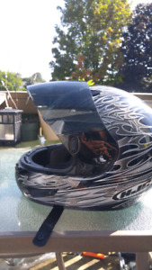 Motorcycle helmets full face size Large