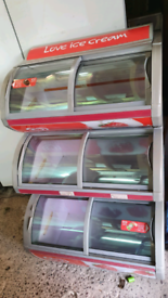 Walls commercial ice cream display Freezer fully working