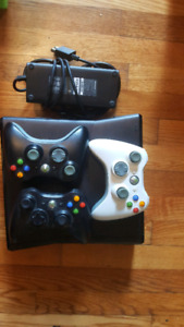 Selling Xbox 360 console with 3 controllers