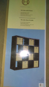 Two 16-cube Storage Units with 8 Baskets each