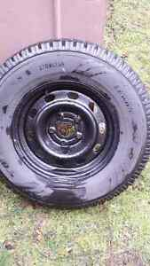 2 toyo winter's on 5 bolt ford rims London Ontario image 9
