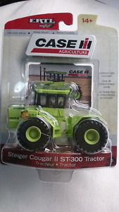 ERTL CASE I H AGRICULTURE STEIGER COUGAR ST 300 TRACTOR DIECAST