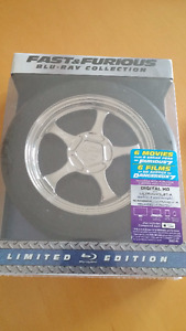 Fast et Furious Blu-Ray collection 1-7