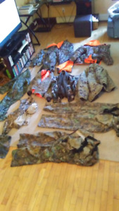 Lots of camo clothing
