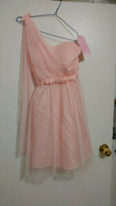 Size xs new pink dress