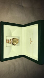 Rolex presidential36 mm 18 karat gold with box and apraisal