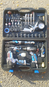 Air-Compressor Tools All-in-One 100 piece