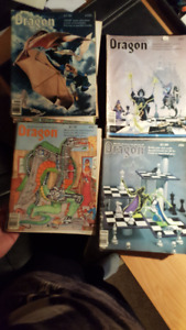 Dragon Magazines, Dungeons and Dragons