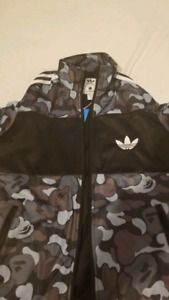 Bape x Adidas Firebird Jacket - Japanese XL/US L