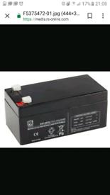 12v 3.2ah batteries *RRP£28* * £10 each*