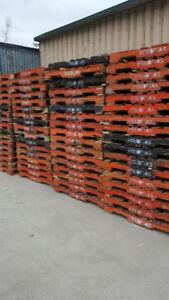 palettes de bois franc CPC 48x40 wooden pallets palette pallet