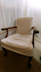 Victorian antique chair for DIY