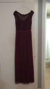 Beautiful bridesmaid dress for sale - worn once!