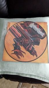 JUDAS PRIEST SCREAMING FOR VENGENCE PICTURE DISC VINYL !