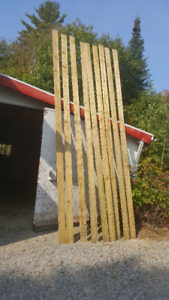 Green Pressure treated 5/4 x 6 x 16 Decking boards $500