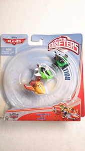 DISNEY PLANES DIECAST MICRO DRIFTERS ISHANI, ZED, RIPSLINGER