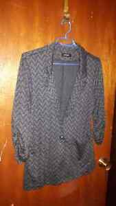2 Large Eclipse Blazers and 1 Large Button Up Sweater. Belleville Belleville Area image 2