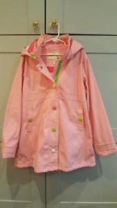 Hatley Splash Jacket  raincoat size 10