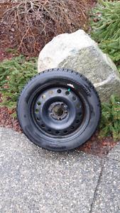 Mazda MX5 Miata snow tires and rims