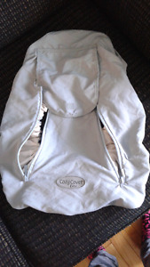 Carseat cover, lightweight.