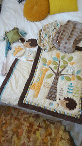 Forest Themed Crib Bedding