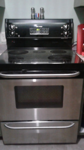 GE Stainless steel stove for sale. Need gone by Tuesday (21st)