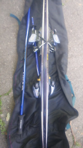 Skis and Poles and Boots