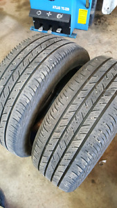 2 - 215 50 R 17 tires $60