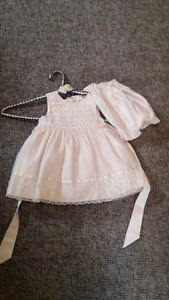 Girl 9 month baptism dress