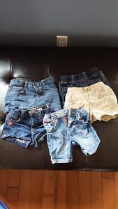 12-18 month girls shorts