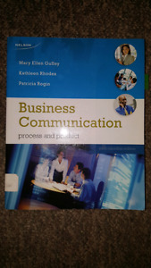 Business Communication 6th Canadian edition