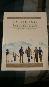 Exploring Sociology - A Canadian Perspective