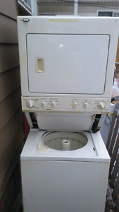"24"" stacked washer/dryer combo"