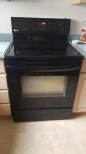 "LG 30"" convection smooth-top stove"