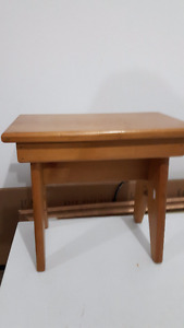 Pine Bench for a Child