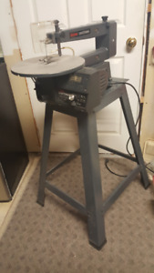 """SEAR Craftsman 16"""" Scroll Saw - Variable Speed, With Stand"""