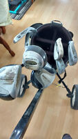 13 piece right hand golf set they have golf bag and cart