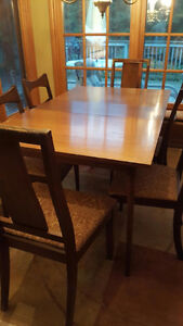 Dining Table-with 4 Chairs and 2 Stools