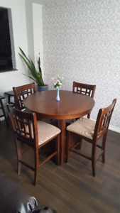 Doster 5 Piece Counter Height Dining Set