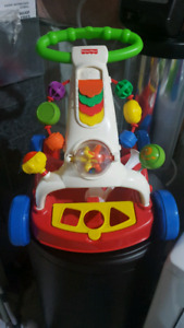Baby walker and interactive toys