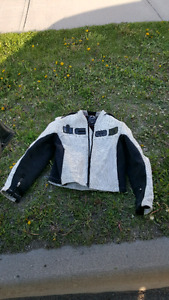Icon men's motorcycle jacket w/ removable inner liner size small