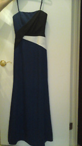 PROM graduation dress robe size 0  ZERO BCBG