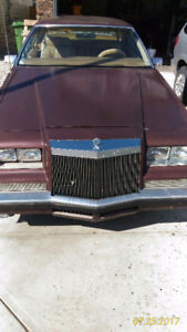 1981 Chrysler Imperial leather Coupe (2 door)