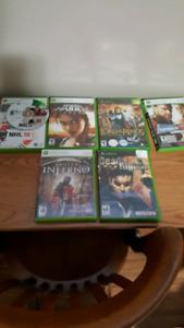 Xbox and xvox 360 games