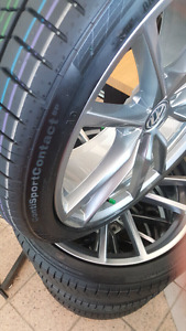 19 inch performance tires x 4
