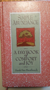 Simple Abundance- A Daybook of Comfort and Joy