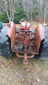"""1951 International w4 tractor """"project """""""