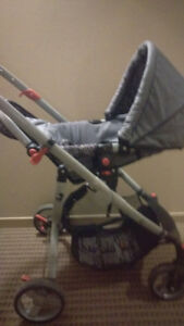 Lamaze rear facing stroller