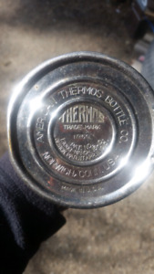 Early 1900s thermos