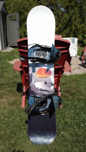KIDS FIREFLY SNOWBOARD AND BINDINGS FOR SALE!!